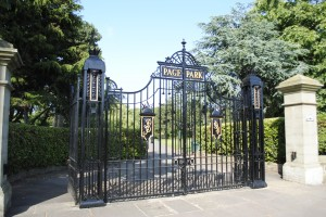 Page Park in Staple Hill