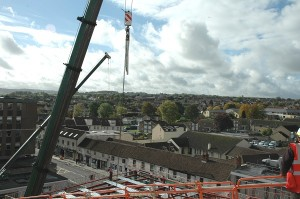 Bird's eye view of Temple Street and The Week In office!