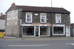Webbs was in the High Street in Warmley for more than 100 years