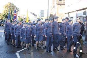 The parade in Warmley