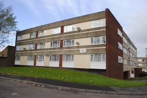 The area around the flats in Pendennis Road is having a £200,000 facelift