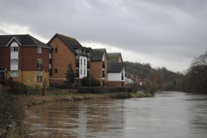 The Avon at Crews Hole is expected to top its banks this weekend