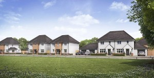 Some of the new houses proposed at Somerdale
