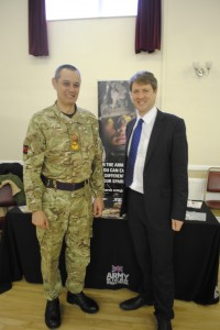 Chris Skidmore MP, pictured at his most recent jobs fair