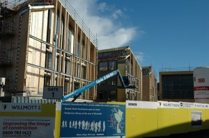 The new civic centre development is nearing completion