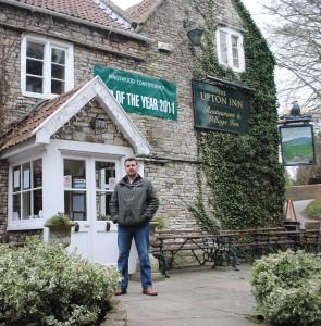 Upton Inn landlord Jamie Pike