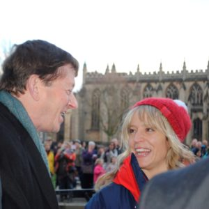 Jenny meets Cllr Neil Butters, Chairman of B&NES Council
