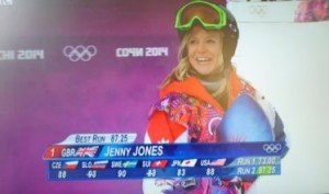 Jenny Jones wins bronze at Sochi