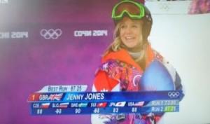 Jenny Jones wins bronze at Sochi