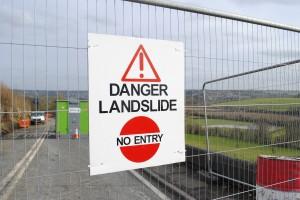 landslide sign