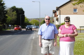 Alan and Anne Sheppard on Craven Way