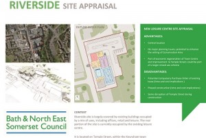 B&NES' proposal for a new leisure centre