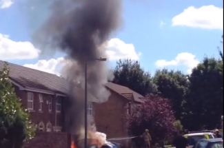 fire in stoneleigh drive