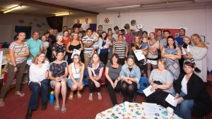 More than 50 parents attended a meeting to launch a campaign to save the nursery  Picture: Rhys Davies