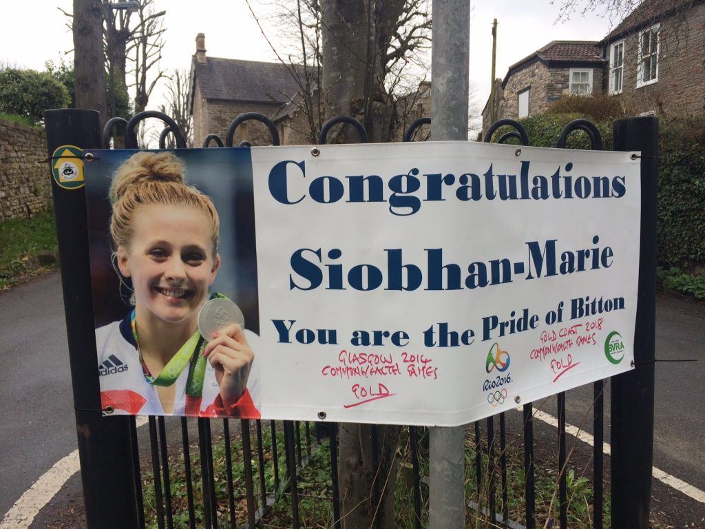 9924b19bcc48 Bitton swimmer Siobhan-Marie wins gold at the Commonwealth Games ...